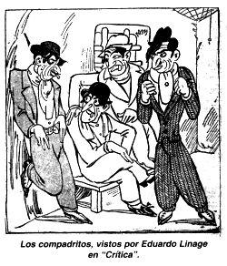 Cumpadritos, le origini del tango